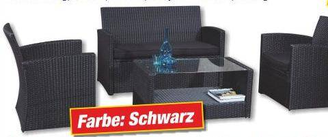 rattan lounge garnitur sonderposten ausverkauf 17356. Black Bedroom Furniture Sets. Home Design Ideas